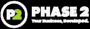 P2 Logomark Full Reversed